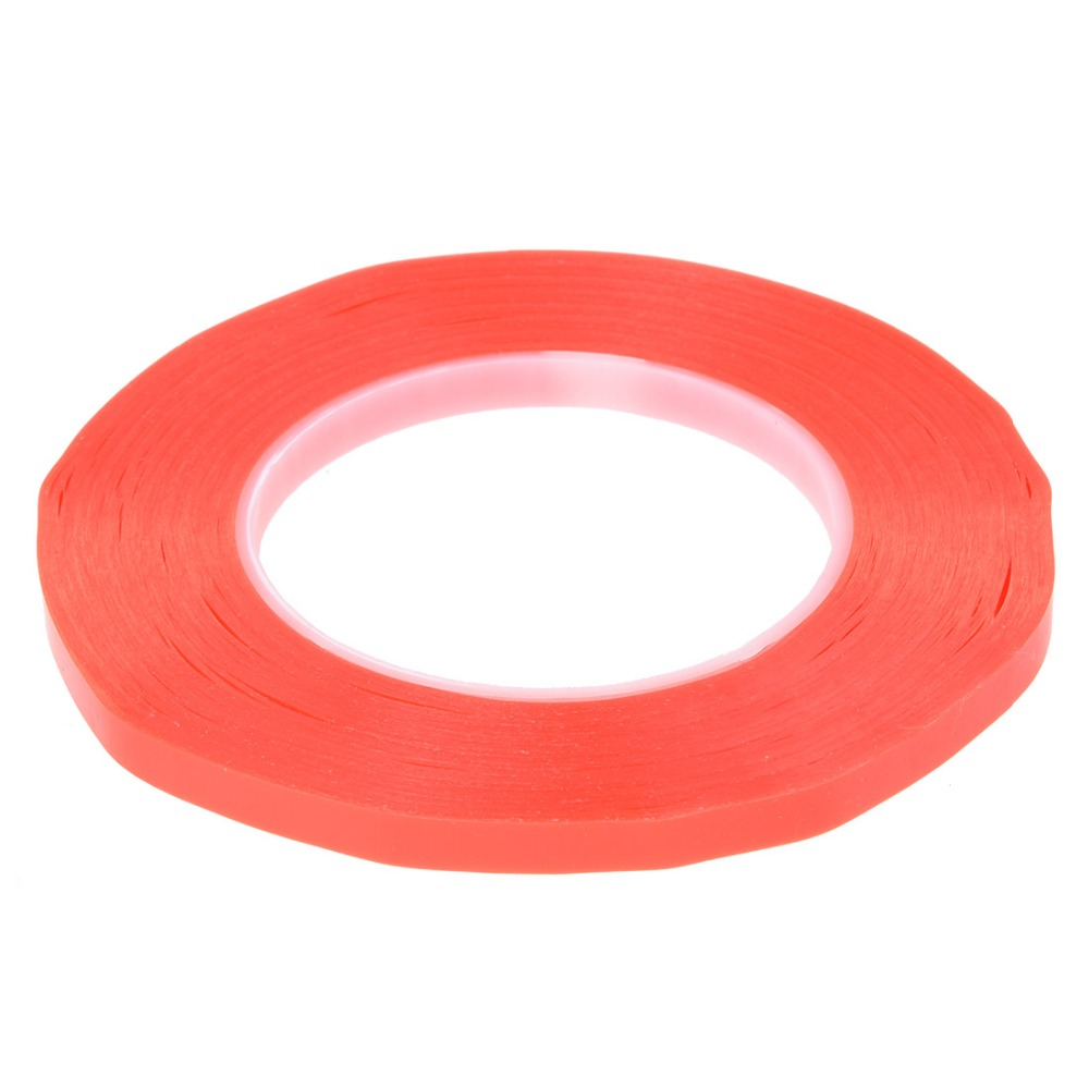 1PC PET 12mm x 50m High Temperture Red film transparent Double sided duct tape heat resistance tape Mounting tape Adhesive Tape 5sheets pack 10cm x 5cm holographic adhesive film fly tying laser rainbow materials sticker film flash tape for fly lure fishing