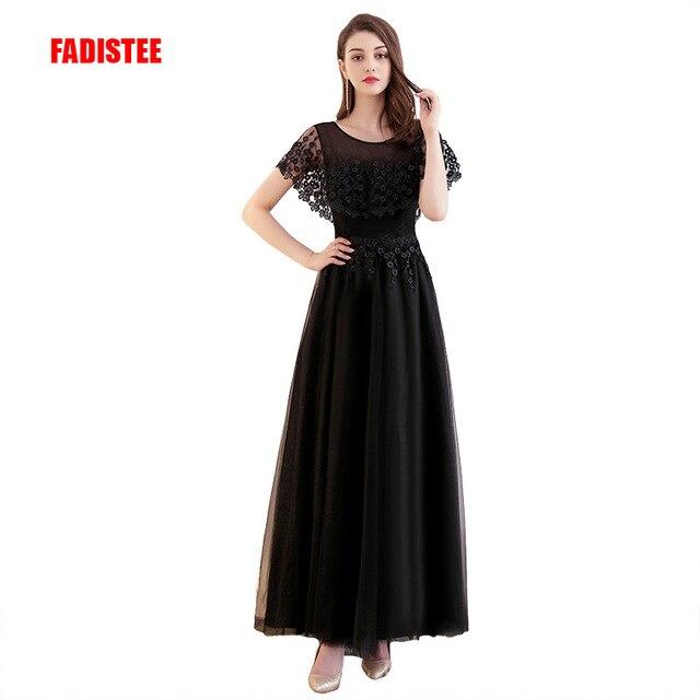 FADISTEE Hot sale elegant  evening dresses prom formal dress  vestidos de festa appliques lace long style gown