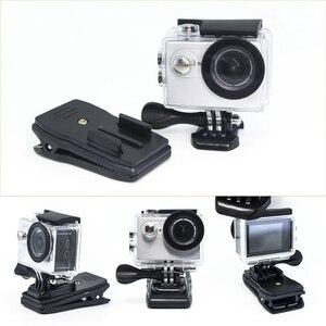 Image 2 - Quick CLIPกระเป๋าเป้สะพายหลังRucksackหมวกCLAMP Mount AdapterสำหรับGoPro HERO 6 5 4 3 + 2/สำหรับXiaomi/foryi 4K/กล้องกีฬา