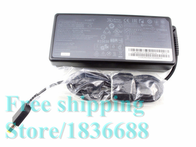 Free20V 6.75A 135 Вт Ноутбук Адаптер ПЕРЕМЕННОГО ТОКА для Lenovo ThinkPad T440p ThinkPad T540p