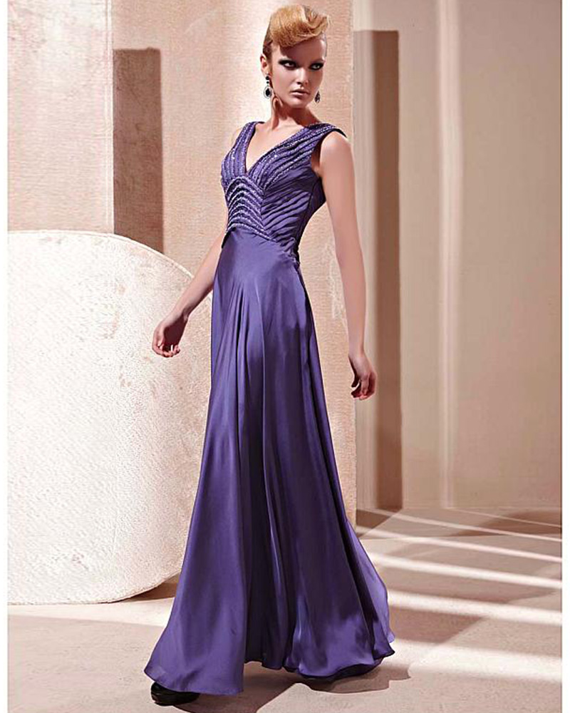 Online Get Cheap Sexi Purple Evening Dress -Aliexpress.com ...