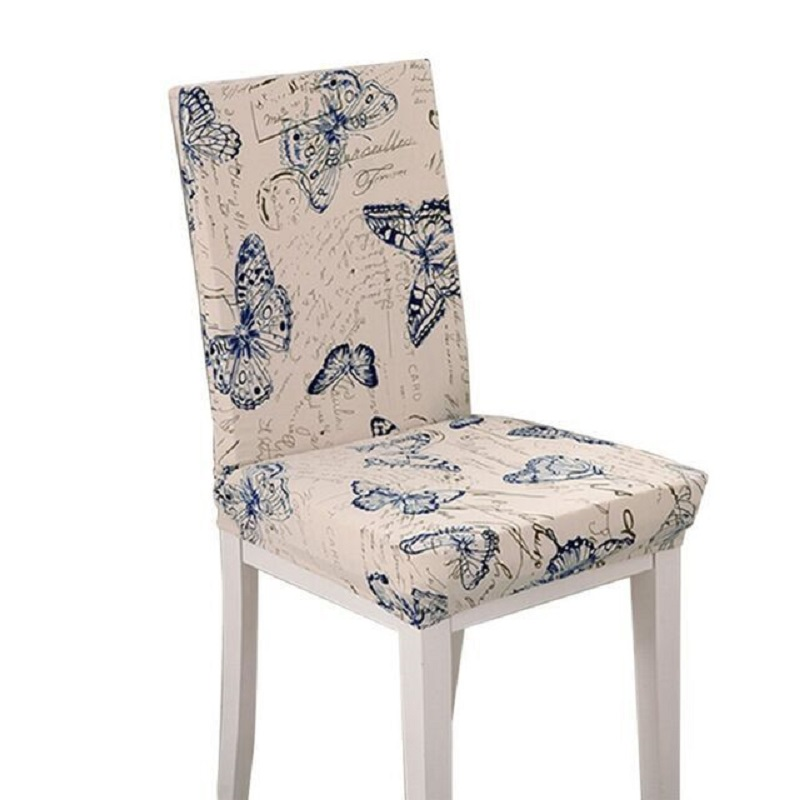 ᗚUniversal spandex silla cubierta estiramiento housse chaise cocina ...