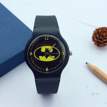 The New 2019 Popular Children Watch Children's Cartoon Batman Watches Watch Cool Rubber Sheet For Children, Boys And Girls