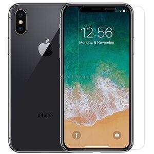 Image 2 - Gehard Glas Voor Apple Iphone Xs Max Screen Protector Voor Iphone Xr X Nillkin Verbazingwekkende H Nanometer Anti Burst beschermende Film