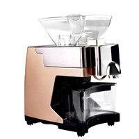 Brand New Uso Doméstico Máquina de Extração de Óleo de Gergelim Prensado a Frio Máquina Da Imprensa de Óleo de Coco Para O Amendoim Girassol