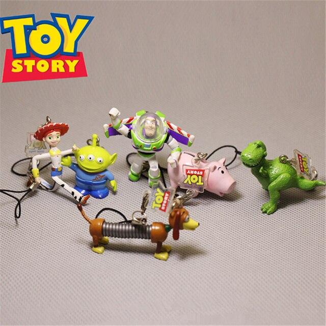 5d05679e25ec4 Aliexpress.com  Comprar 6 unid lote 3 5 cm toy story Buzz Lightyear ...