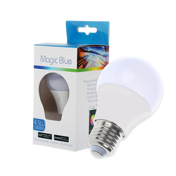 Magic Blue LED Bulb E27 RGBW 4.5W Music control & Timer function Bluetooth Smart LED Light Bulb for IOS / Android