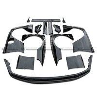 Car styling For Nissan R32 GTR FRP Fiber Glass RB Style Wide Body Kit Fiberglass Full Racing Wider Bodykit Trim Garnish Part