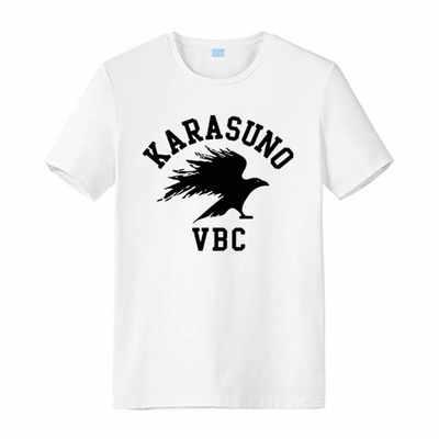 Nowa koszulka Haikyuu cosplay kageyama todo hinata syouyou Anime męska koszulka letnia kreskówka koszulka z krótkim rękawem topy