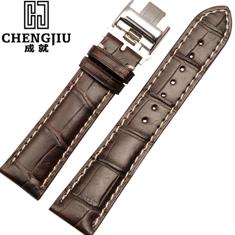 Genuine Leather Watchband For Longines Men Leather Watch Strap For Women Metal Buckle Watch Band Belt Retro Watch Clock Band genuine leather watchband for longines men leather watch strap for women metal buckle watch band belt retro watch clock band