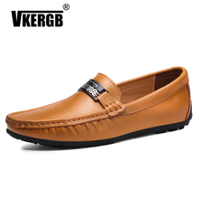 Breathable Summer Casual Shoes Men's Faux Leather Luxury Shoes Men Loafers Big Size Driving Shoe Peas Shoes Teenager Comfortable faux leather insert breathable athletic shoes