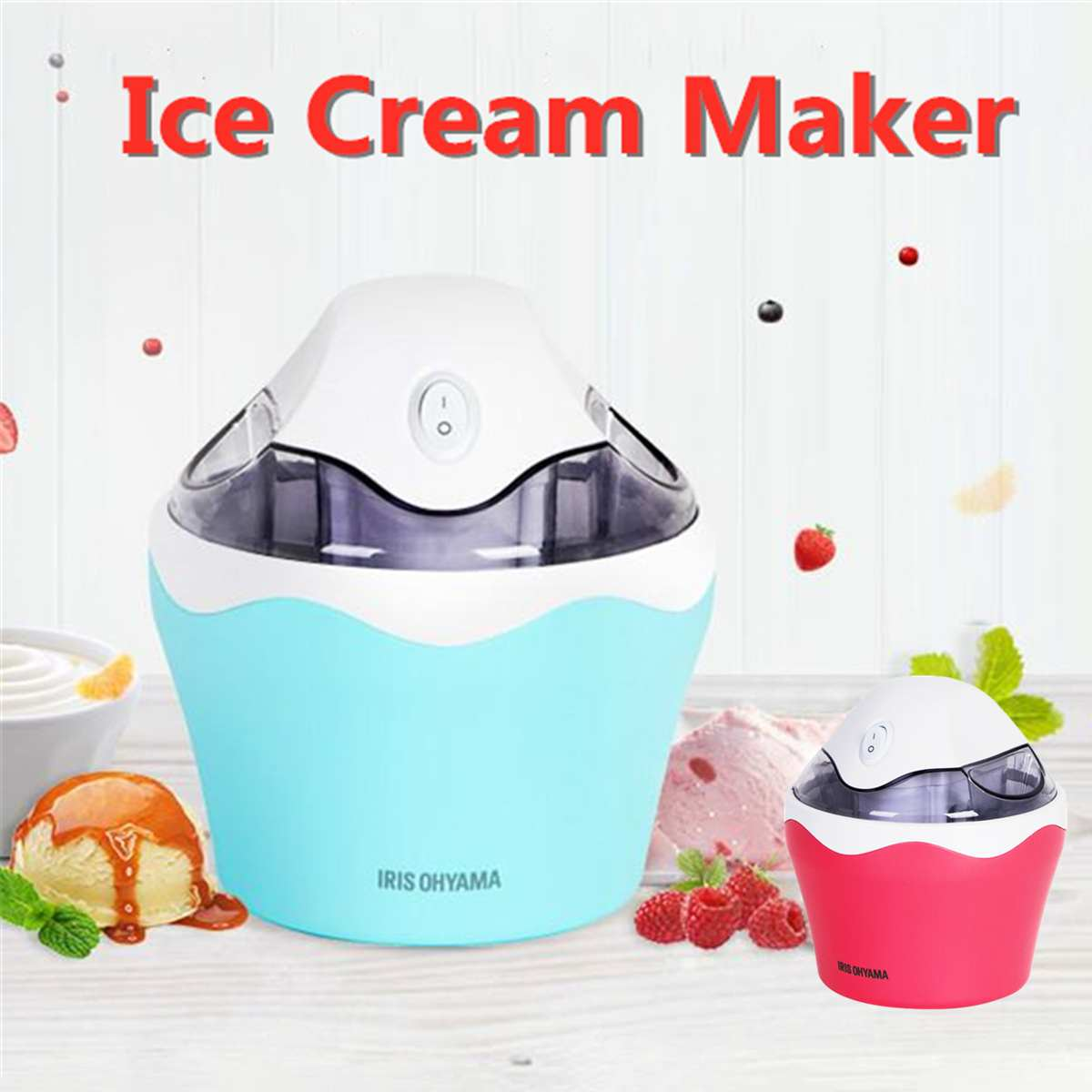 0.5L Mini Ice Cream Maker Sorbet Yoghurt Machine Dessert For Household DIY Portable Home Ice Cream Maker