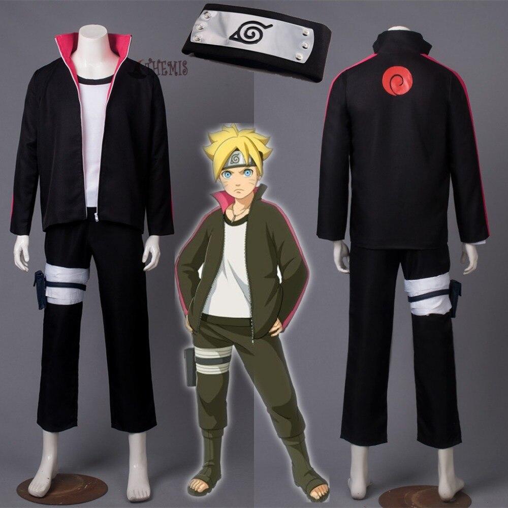 Athemis BORUTO -NARUTO THE MOVIE Naruto Uzumaki Boruto Cosplay costume anime cosplay clothes custom made