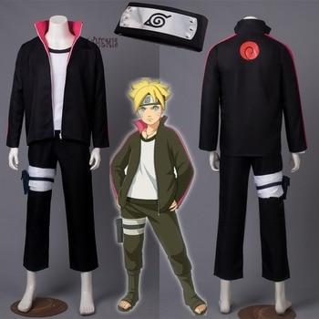 Athemis BORUTO -NARUTO THE MOVIE Naruto Uzumaki Boruto Cosplay costume and  headband anime cosplay clothes custom made