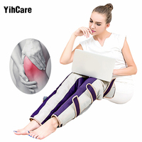 Infrared Therapy Heated Vibrating Electric Slimming Legs Massager Machine Promote Blood Circulation Pain Relief Leg Massage Belt