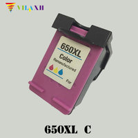 For HP 650 Xl Color Ink Cartridge For HP 650xl Deskjet 1015 1515 2515 2545 2645
