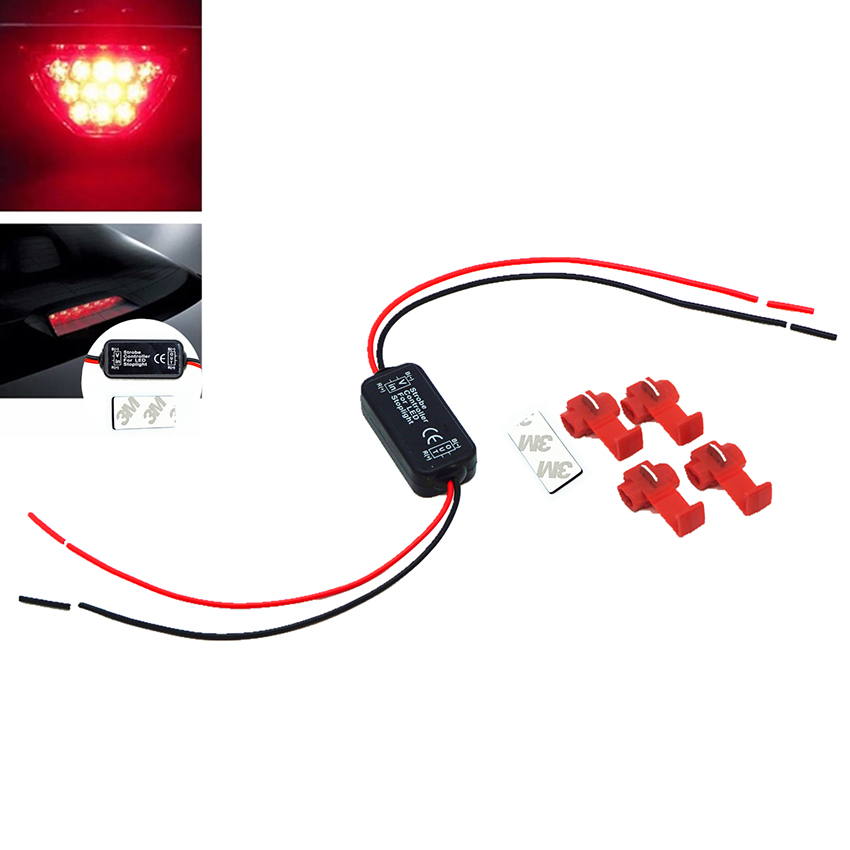 Universal 6-30V Flash Strobe Controller Flasher Module for Car LED Brake Stop Light Lamp ...