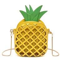 5 Women S Fashion Pineapple Shape Lovely Handbags Cute Shoulder Bag For Women
