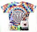 2015 A mais recente estilo de alta qualidade 3D T-shirt Tempo Aventura HD impresso T-shirt Bonito dos desenhos animados mulheres/homens t-shirt Livre grátis