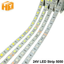 DC24V LED Strip 5050 Flexible LED Light RGB RGBW White Warm White Waterproof LED Strip 60LEDs/m 5m/lot.