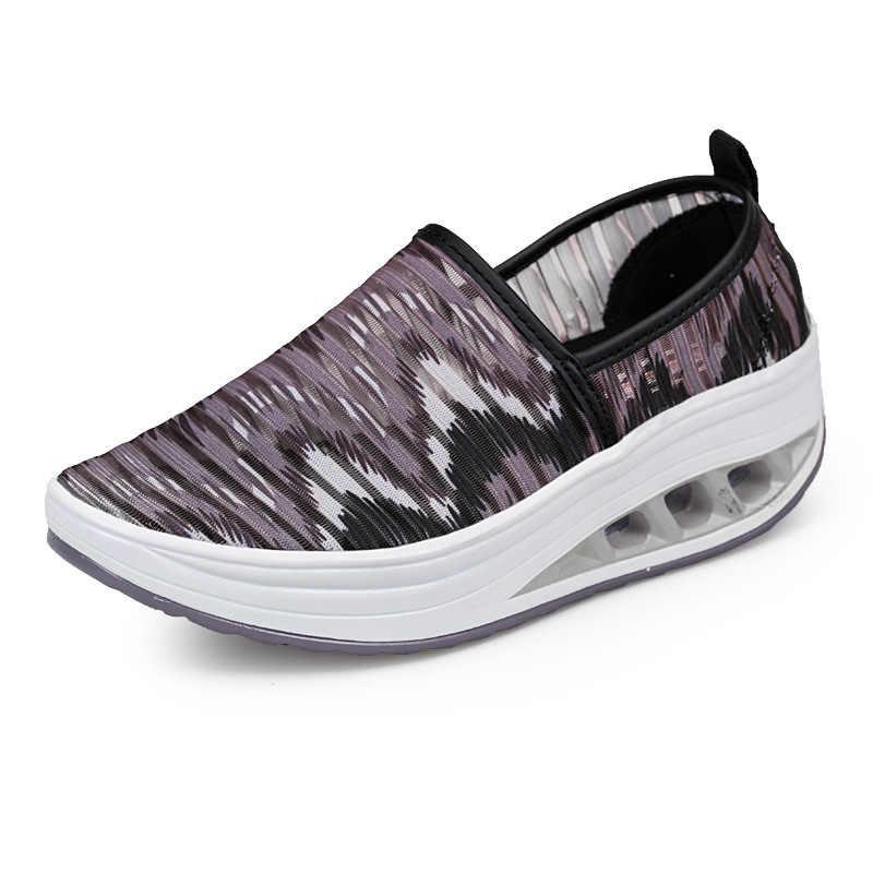 Fujin/женские балетки на плоской подошве; сетчатые слипоны; женские мокасины; Повседневная обувь; женские летние лоферы; женская обувь