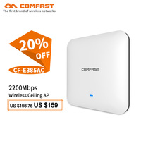 COMFAST 500mW 2200Mbps Gigabit 2.4G+5Ghz wifi Router WAVE2 Wireless Ceiling AP Access Point Repeater Open ddwrt Wi fi Access AP