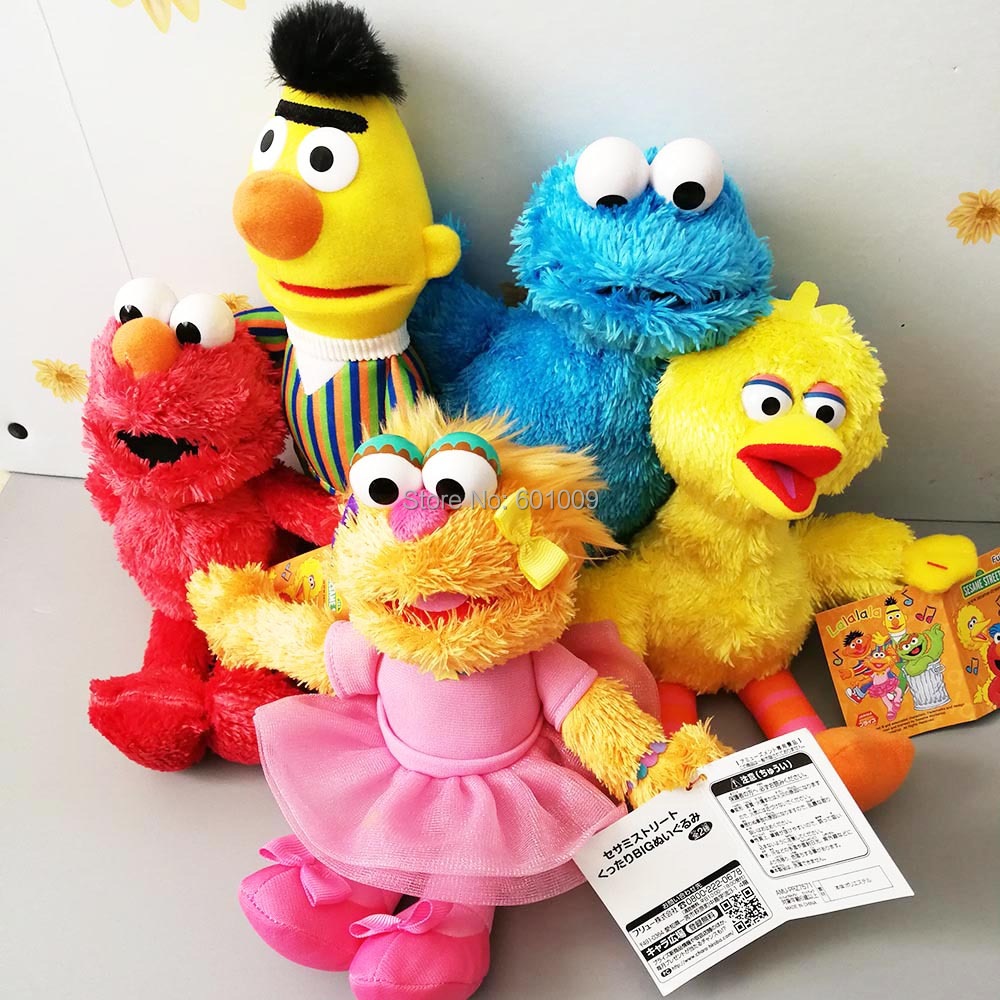 Movies & Tv Back To Search Resultstoys & Hobbies 100% Quality 2019 New 5 Styles 45cm Kaws Uniqlo Co-name Sesame Street Emo Elmo Limited Edition Plush Doll Kaws Mascot Festival Creative Gifts