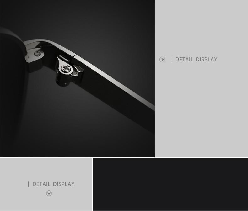 Aviator Green Lense Sunglasses V3152