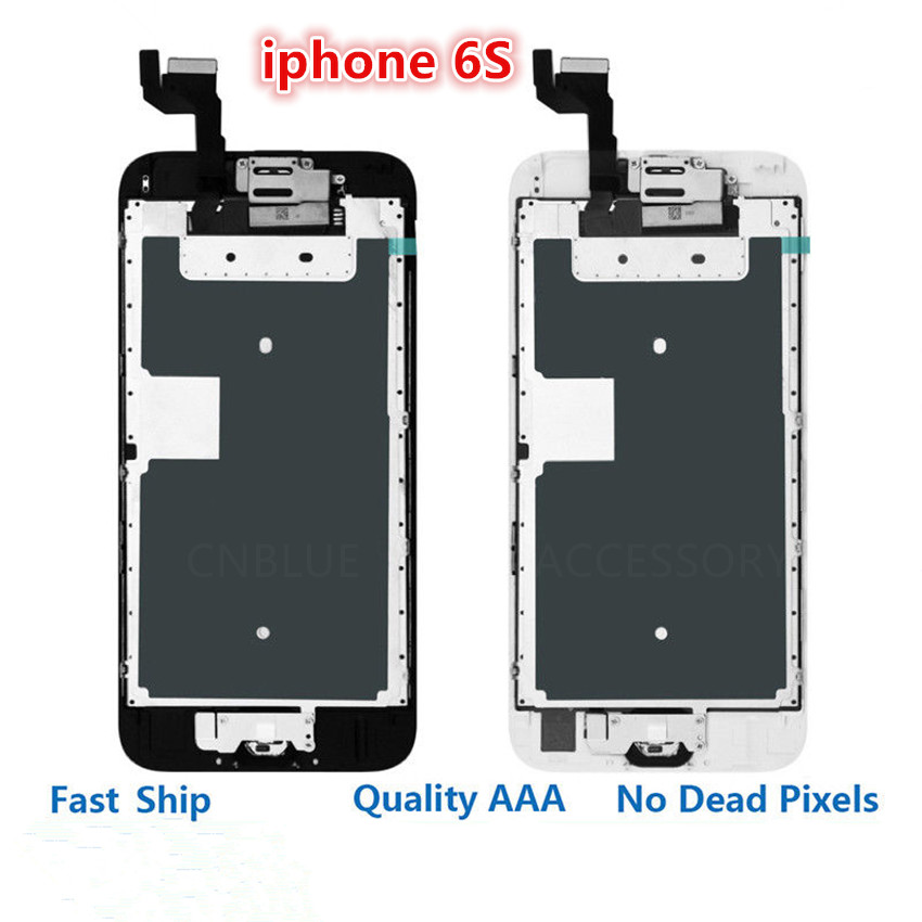 4.7 For iPhone 6S LCD Display 3D Touch Screen Digitizer Assembly Replacement For iPhone 6S Full Set Complete LCD A1633 A1688 image