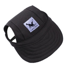 TAILUP Dog Hat With Ear Holes Summer Canvas Baseball Cap For Small Pet Outdoor Accessories Hiking Products -10 Styles