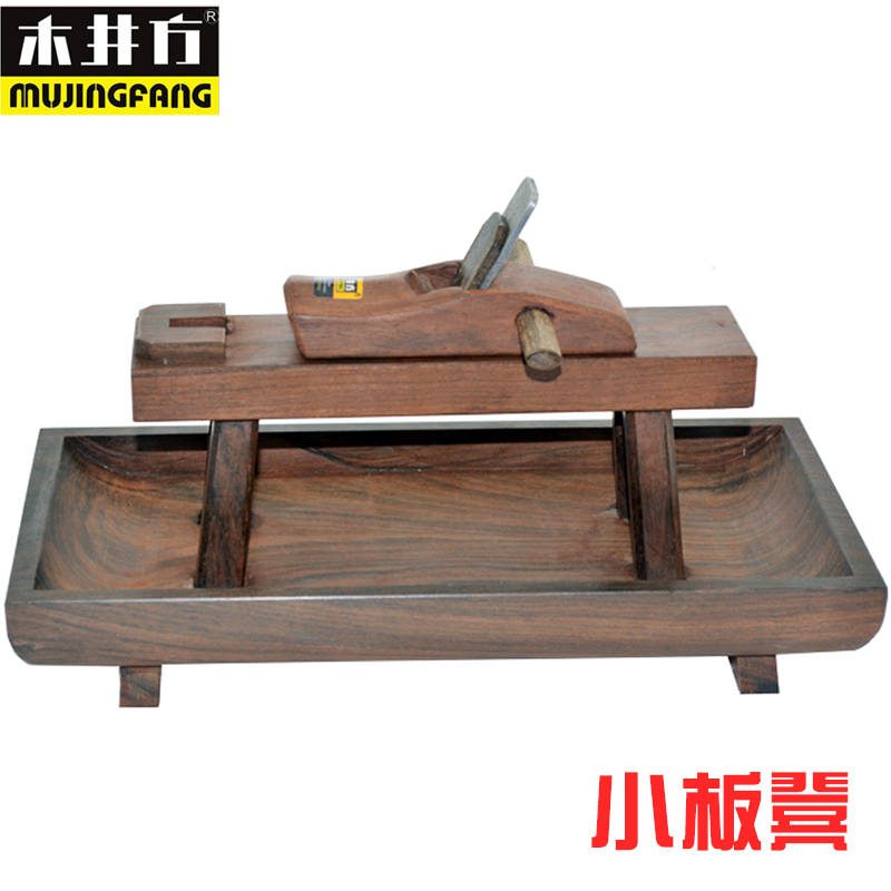 African Ebony Wood Wells Square Stool Suit Small Woodworking Plane