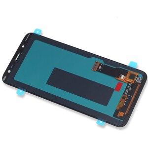 Image 4 - Orijinal AMOLED Samsung Galaxy J6 2018 ekran LCD ekran dokunmatik ekran Digitizer meclisi değiştirme J600F J600 ücretsiz araçlar
