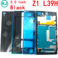 New Z1 / Z1 Compact Full Housing for Sony Xperia Z1Mini D5503 L39h C6903 With Front Middle Frame Back Battery Cover Case