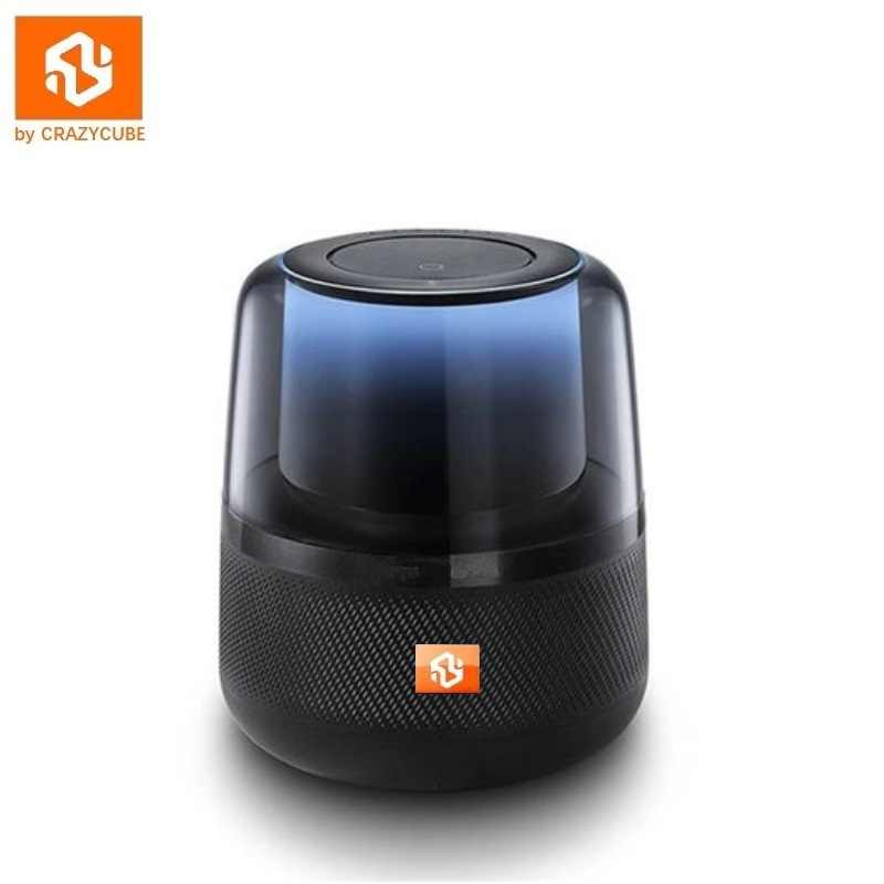 CrazyCube Allure LED Drahtlose Tragbare Bluetooth Lautsprecher 360 Surround Stereo besser als harman kardon jbl mit fm tf karte mp3