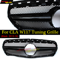 Подходит для Mercedes Benz cla Class W117 перед подтяжку лица без центр Логотип AMG стиль решетка CLA180CLA200 CLA250 CLA45 2013 16