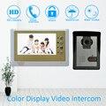 Aluminiumlegierung 7 zoll Video türsprechanlage HD Kamera Nachtsicht Funktion Talkback Entsperren Smart Home Tür access intercom system