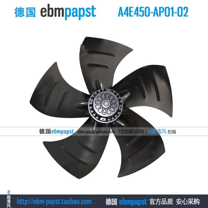 ebmpapst A6E400-AP10-02 AC 230V 0.55A 120W 400x400mm Server Round fan Outer rotor fan