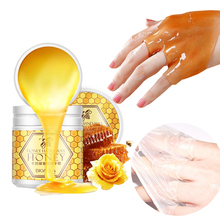 Peeling Hand Feet Mask Wax Honey Essence Paraffin Bath Sodium Hyaluronate Moistu