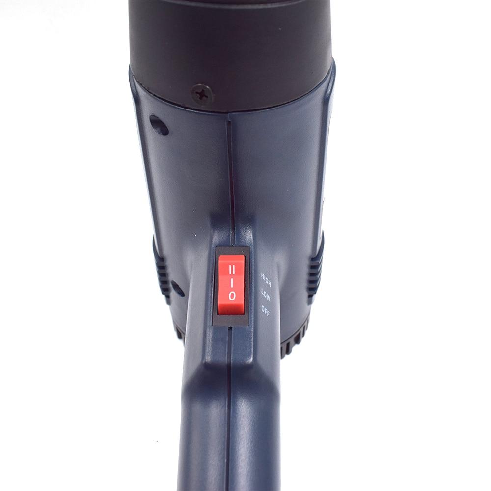 Termoregolatore LCD industriale elettrico pistola ad aria calda 1800W - Utensili elettrici - Fotografia 4