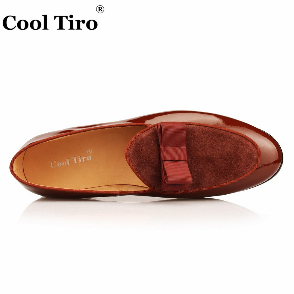 Desenhador Dos Zapatos Casual Sapatas Loafers Moda Bow Homens Envernizado Couro Marca Patchwork Wedding Knot Tiro De Hombre Do Legal Suede PEnHX8xqI