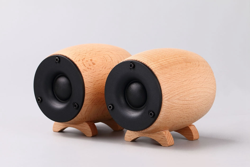 A pair Solid Wooden HIFI Tweeter Speaker Super Treble Sound Box Home Theater KTV Full Range