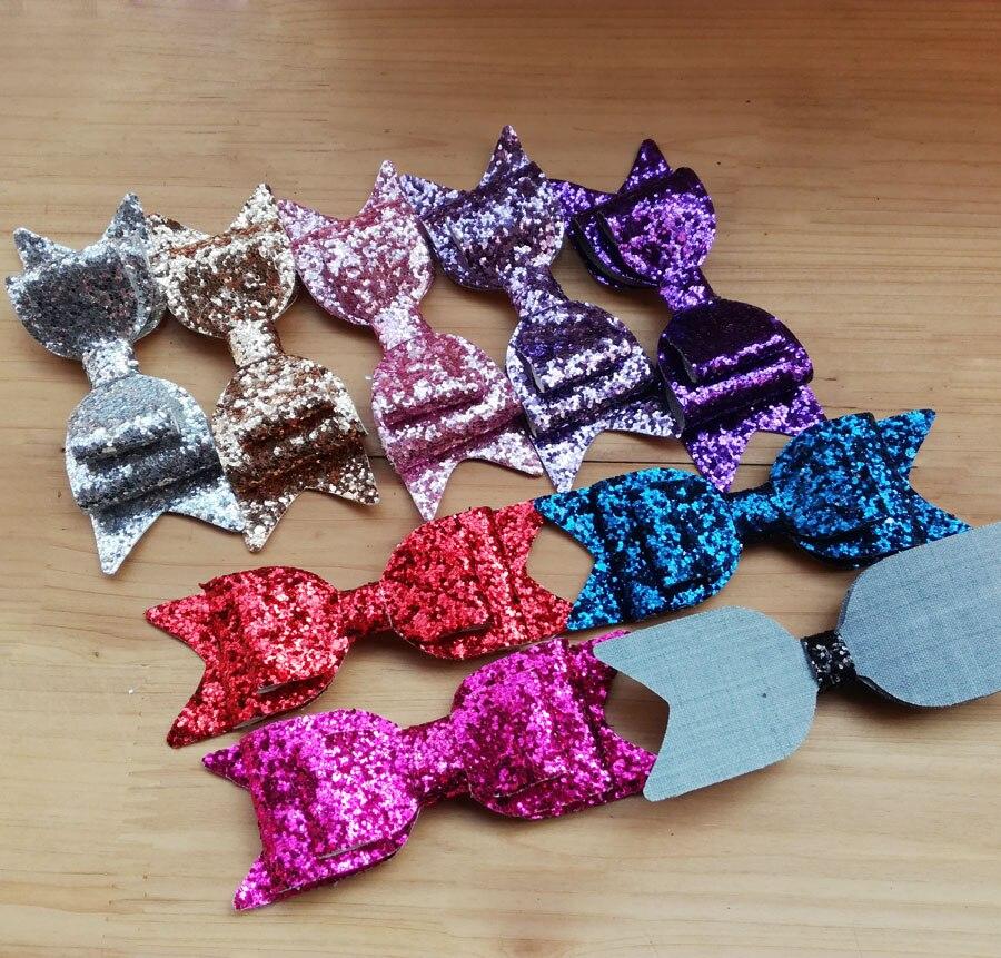 colors 11.5x4cm fashion glitter
