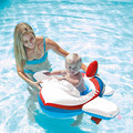Cartoon Car Plane Children Baby Swimming Swim Seat Ring Float For 0-2 Years Rattle inside,Fire Rescue, Patrol Boat