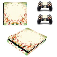 Anime One Punch Man PS4 Slim Skin Sticker For Sony PlayStation 4 Console and Controllers Decal PS4 Slim Sticker Vinyl