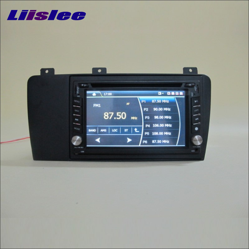 Liislee For VOLVO S60 2006~2009 Car Radio Stereo CD DVD Player & GPS Navi Navigation System / Double Din Audio Installation Set