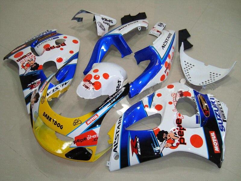 7gifts For SUZUKI GSX-R600 96 97 GSX R600 96-00 GSXR 600 98 99 00 GSXR600 96 1996 1997 1998 1999 2000 Fairing dark dog