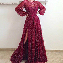 EVERFEAG Muslim Evening Dresses 2019 Party Dress