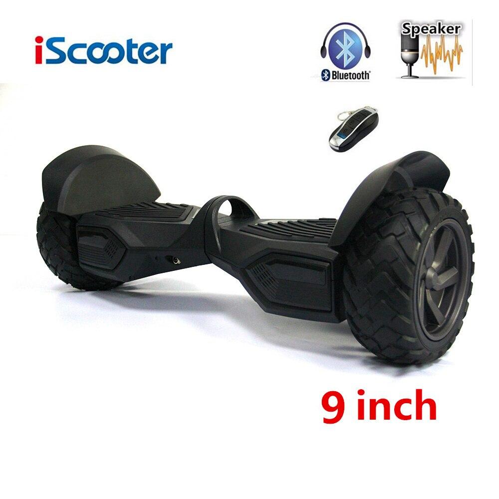 Цена за UL2272 Hoverboard С Bluetooth И Динамик 9 дюймов Electrice Скейтборд С Дистанционным Управлением iScooter 6 Умный Баланс Hoverboard