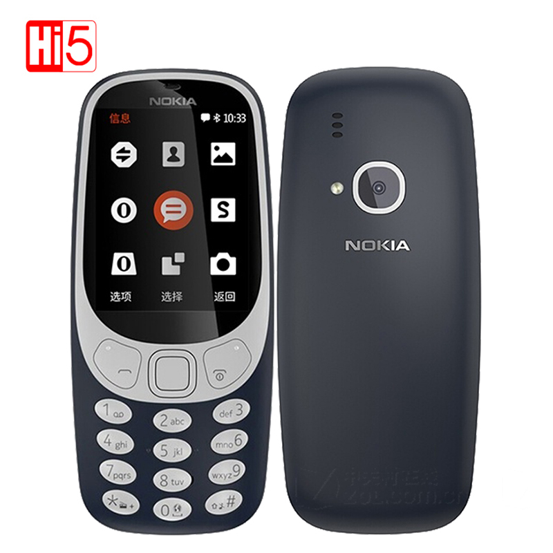 2017 Unlocked Nokia 3310 TA 1030 2 4 inch Screen 320x240 2MP Mobile Phone GSM 1200mAh