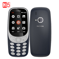 2017 Unlocked Nokia 3310 (TA-1030) 2.4 inch Screen 320x240 2MP Mobile Phone GSM 1200mAh Dual SIM 1200mAh Nokia3310 Smartphone